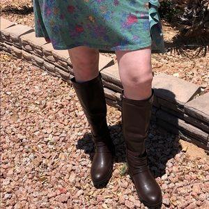 Mi.iM Yara-03 Brown Knee High Boots - size 8.5